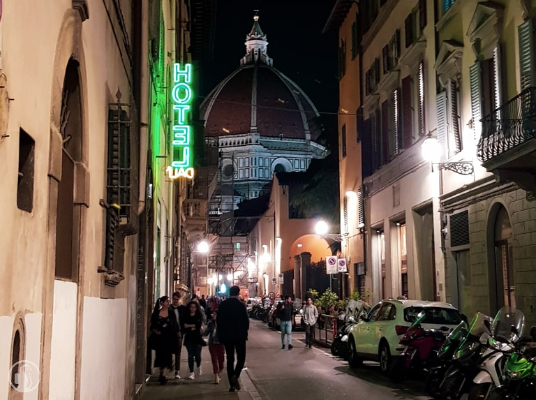 Florence Cathedral night