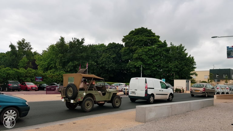 Jeep at Pegasus Bridge
