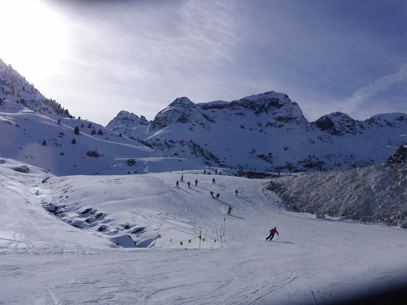 Slope in Formigal