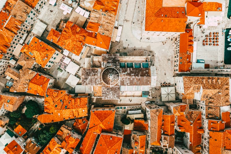 Dubrovnik up view