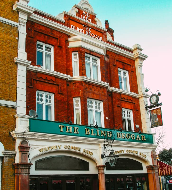The Blind Beggar, London