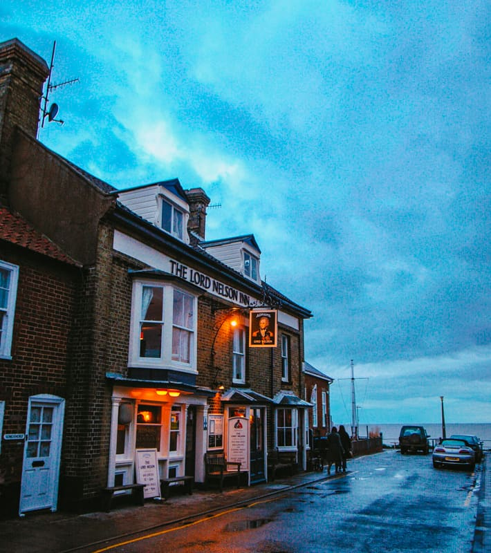 The Lord Nelson Inn, Suffolk
